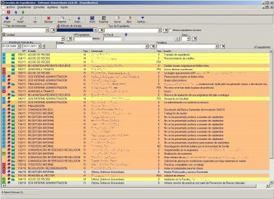 Aplicación de Gestión de Expedientes del Defensor Universitario GEDU