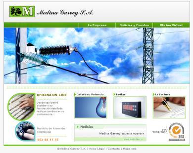 Web Medina Garvey Electricidad